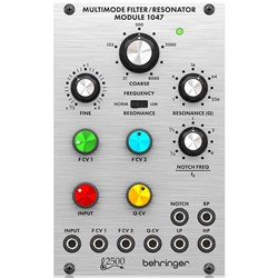 Behringer 1047 Legendary 2500 Series 12dB State Variable Filter Module for Eurorack