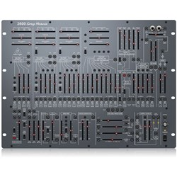 Behringer 2600 Gray Meanie Special Edition Semi Modular Rackmountable Analog Synth