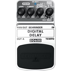 Behringer DD600 Digital Delay / Echo Effects Pedal
