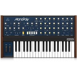 Behringer MonoPoly Analog 4-Voice Polyphonic Synthesiser