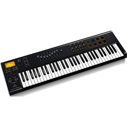Behringer Motor 61 USB/MIDI Master Controller Keyboard w/ Motorised Faders & Pads