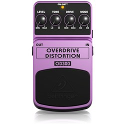 Behringer OD300 2-Mode Overdrive/Distortion Effects Pedal