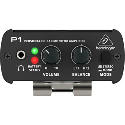 Behringer Powerplay P1 Personal In-Ear Monitor Amp