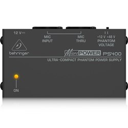 Behringer Micropower PS400 Phantom Power Supply