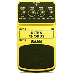 Behringer Ultra Chorus UC200 Ultimate Stereo Chorus Effects Pedal