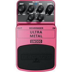 Behringer UM300 Ultra Metal Heavy Metal Distortion Pedal
