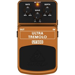 Behringer UT300 Ultra Tremolo Classic Tremolo Effects Pedal
