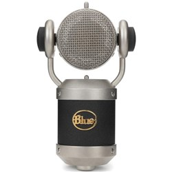 Blue Mic Mouse L-Diaphragm Condenser Mic w/ Rotating Head for Vocals, Bass & Kick