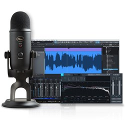 Blue Mic Yeti Studio All-In-One Recording System (Software Included) (Black)