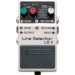 Boss LS-2 Line Selector Pedal