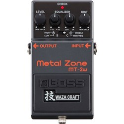 Boss MT2W Metal Zone Pedal (Waza Craft Special Edition)