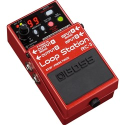 Boss RC-3 Loop Station Stereo Stompbox Looper