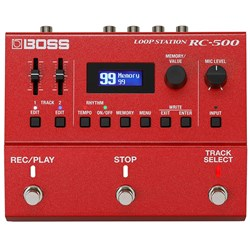 Boss RC-500 Loop Station Advanced 2-Track Looper Pedal