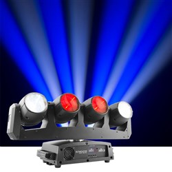 Chauvet Intimidator Wave 360 IRC Multi Moving Head Spot 4 x 12W QUAD LED
