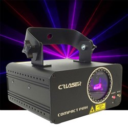 CR Compact Pink 180mw Laser (150mw Red + 100mw Blue)