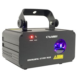 CR Drawing Star RGB Laser (100mW-G + 200mW-R + 500mW-B)
