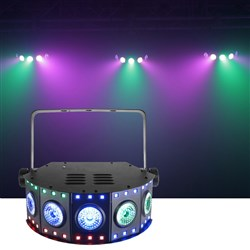 CR Lite Magik Array LED Lighting Effect with RGB Strobes & Wash