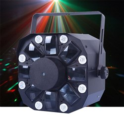 CR Lite Mixlaser LED Lighting Effect with Strobes and Laser