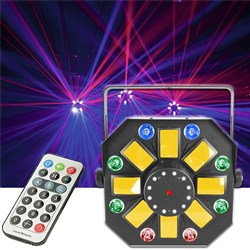 CR Lite Mixlaser II LED Lighting Effect w/ Strobes, Laser & Wash