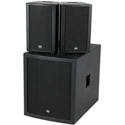 "DAP Audio Club Mate II 15"" Compact Active Speaker Set"