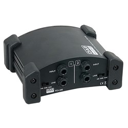 DAP Audio PDI-200 Stereo Passive Direct Injection Box