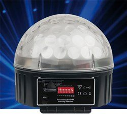 LED Starball with Remote Control (Sound Activated)