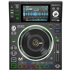 "Denon SC5000M Prime Pro DJ Media Player w/ 7"" Multi-Touch Display & 7"" Motorized Platter"