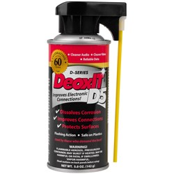 DeoxIT D-Series Contact Cleaner & Rejuvenator - 5% Solution (142g)