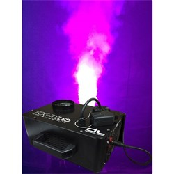DL Geyser LED Smoke Machine 700W inc Wireless Remote (3 x 9W TRI LED)