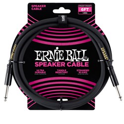 Ernie Ball 6' Straight / Straight Speaker Cable