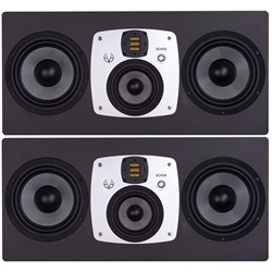 "EVE Audio SC408 4-Way 8"" Professional Studio Monitor Speakers (Pair)"