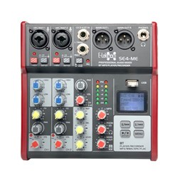 E-lektron SE-4 4 Channel Mixer w/ Bluetooth