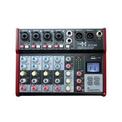E-lektron SE-6 6 Channel Mixer w/ Bluetooth