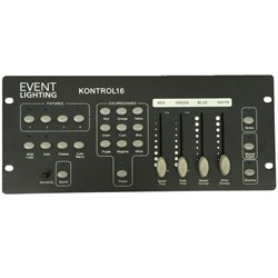 Event Lighting Kontrol 16 4x RGBW Fixture DMX Controller