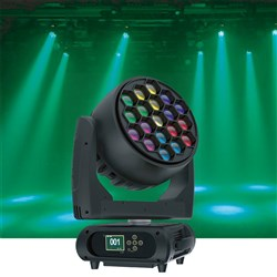 Event Lighting M19W40RGBW LED Pixel Control Moving Head Zoom Wash 19 x 40W RGBW