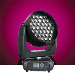 Event Lighting M37W15RGBW LED Pixel Control Moving Head Zoom Wash 37 x 15W RGBW