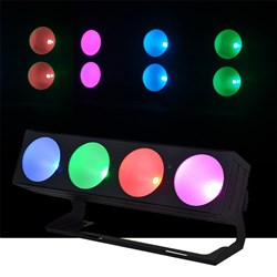 Event Lighting Pan 4 x 30W TRI COB LED Pixel Effect Light