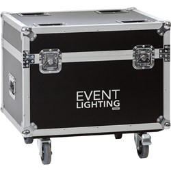 Event Lighting PAR12CASEWC Road Case for PAR12X8 or PAR12X12 (Fits 10)