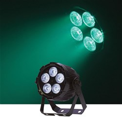 Event Lighting PAR5X12 LED Flat Pro Par 5x12W RGBWAU Stage Wash