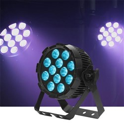 Event Lighting PARRGBW12X8 LED Flat Pro Par 12x8W RGBW Stage Wash