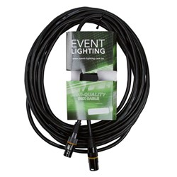 Event Lighting XLR5M5F1.5 5-Pin DMX Lead - Blue Indicator Ring (1.5m)