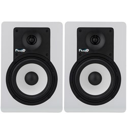 "Fluid Audio C5BTW Bluetooth 5"" White Studio Monitors (Pair)"