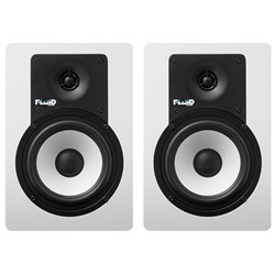 "Fluid Audio Classic Series C5 5"" Studio Monitors (Pair - White)"