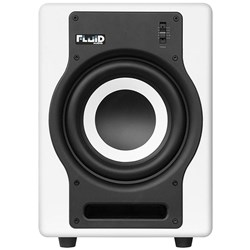 "Fluid Audio White F8S Studio Active 8"" Subwoofer"
