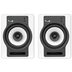 "Fluid Audio White FX8 Fader 8"" Studio Monitors (Pair)"