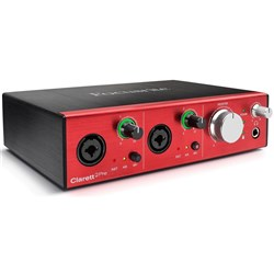 Focusrite Clarett 2Pre 10x4 Thunderbolt Audio Interface