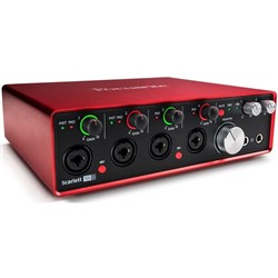 Focusrite Scarlett 18i8 USB Audio Interface w/ Pro Tools & Ableton Live (Generation 2)