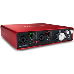 Focusrite Scarlett 6i6 USB Audio Interface w/ Pro Tools & Ableton Live (Generation 2)