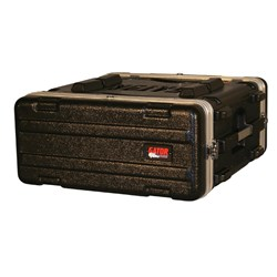 Gator GR-4L 4U Molded PE Rack Case w/ Front & Rear Rails (Standard)