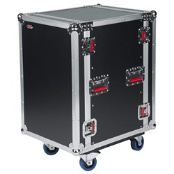 Gator G-TOUR 14U CAST 14U Standard Road Rack Case w/ Casters